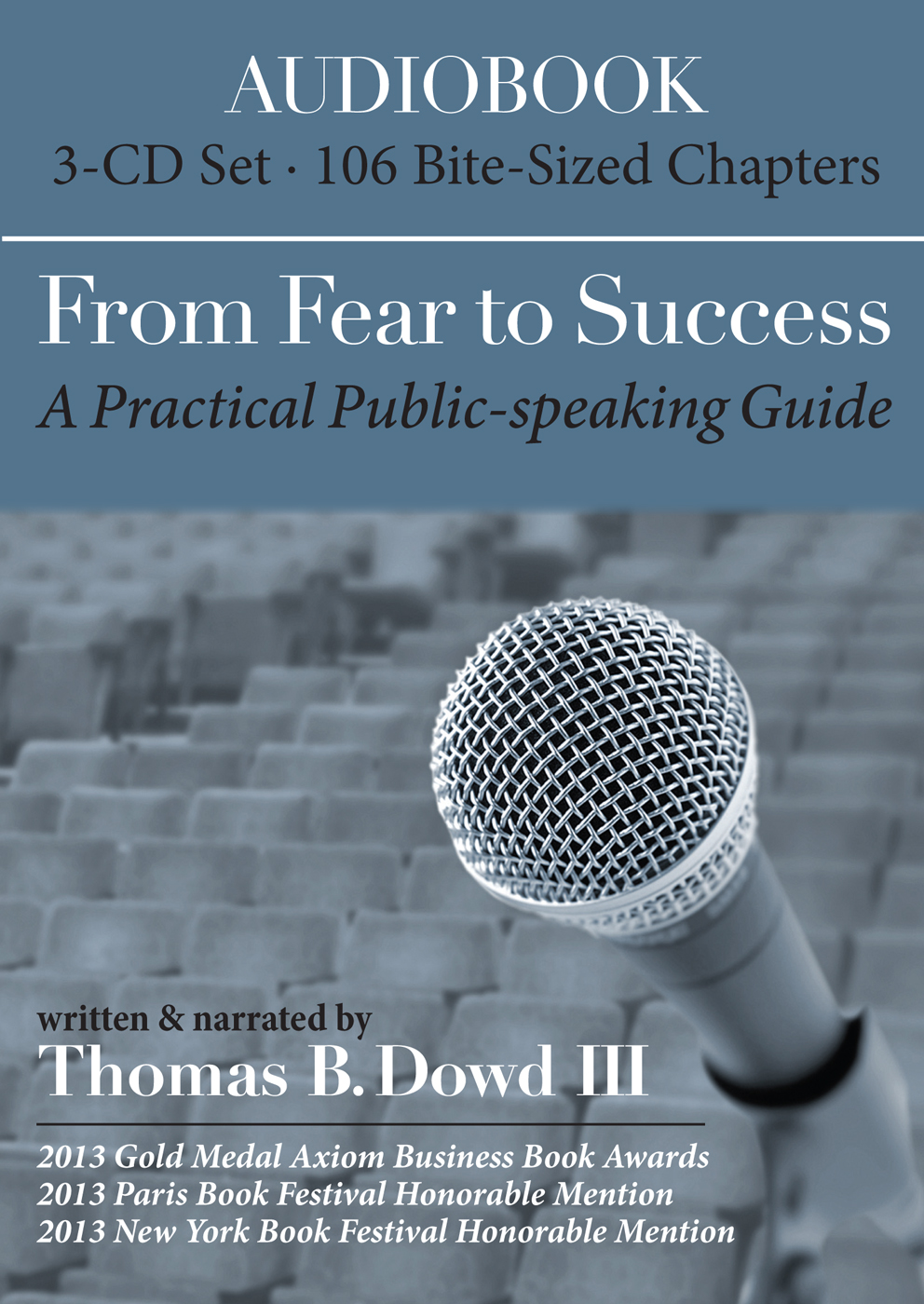 Fear to Success Audio Book Cover_Thomas Dowd 082613 Regular Dimensions